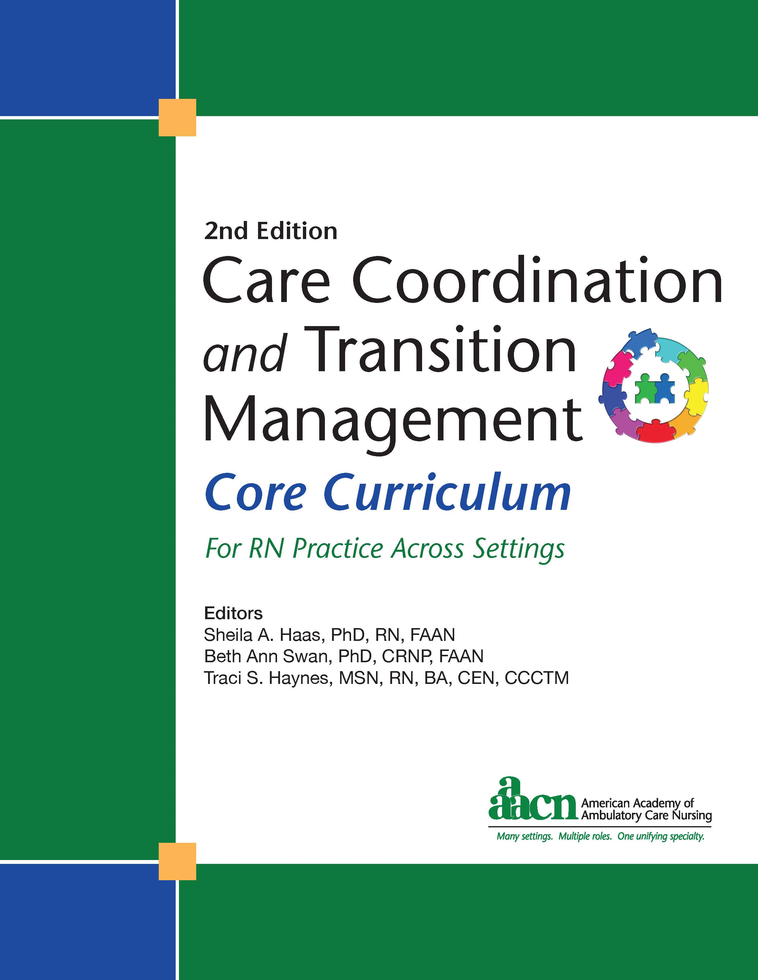 Care Coordination and Transition Management (CCTM) Core Curriculum, 2nd Edition, 2019